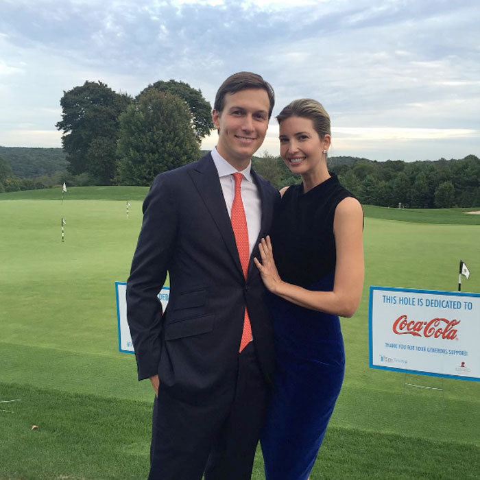 The Manhattan-based couple stepped out in 2015 to support Ivanka's brother Eric Trump in his efforts to support St. Jude Children's Hospital.  