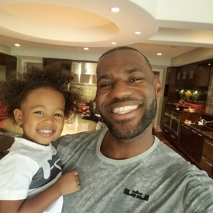 "LeBron James flashed a bright smile in honor of his daughter Zhuri's birthday. Alongside the happy photo the NBA star wrote, ""Happy 2nd perfect beautiful birthday Princess Z!!! You're amazing in every aspect of life and I'm happy to be your Dada. Love you through my existence and beyond! #DaddysGirl #YourSmileInspiresMeEvenMore #SorryForPuttingYouOnSocialMedia #IKnowYouHateItButItsASpecialDay.""