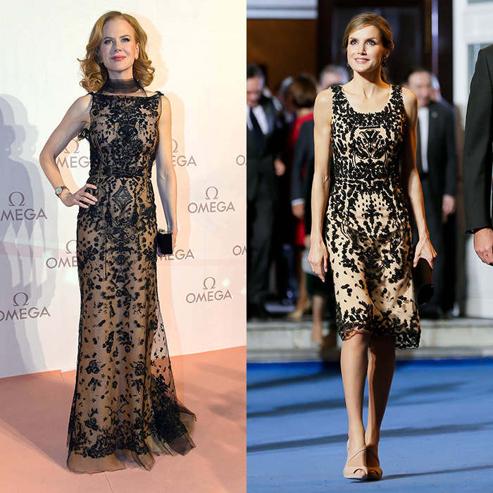 <b>Nicole Kidman and Queen Letizia of Spain</b>