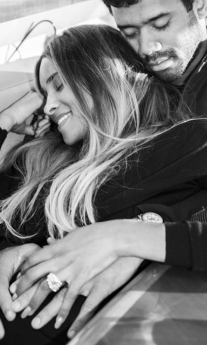 <b>Ciara and Russell Wilson</B>