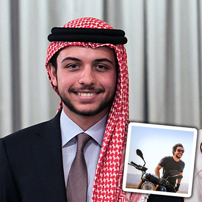 <b>Crown Prince Hussein</b>