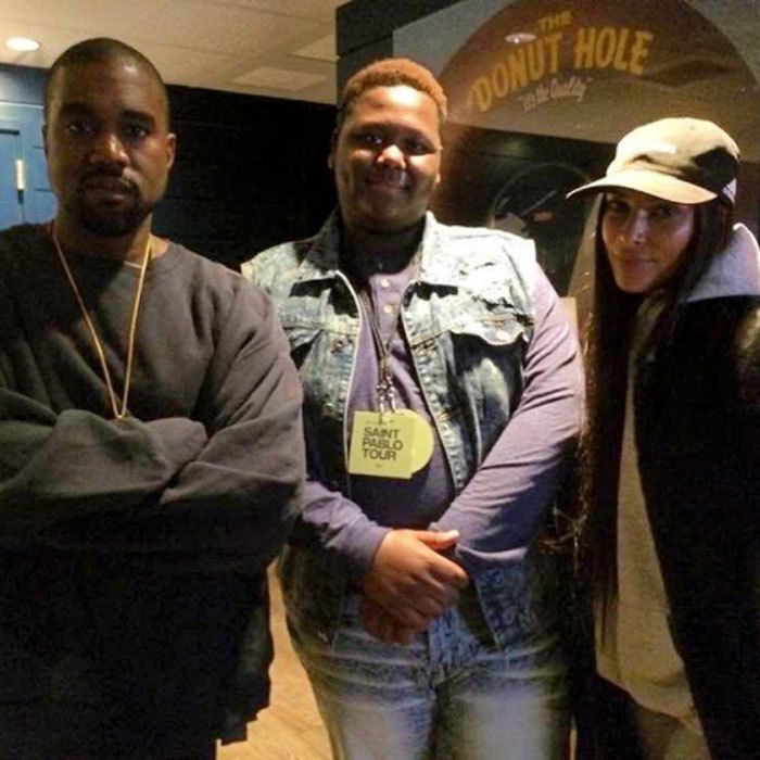 Nearly a month after her robbbery, Kim resurfaced on Instagram - though not on her own account. The reality star posed for a photo with shooting victim Alton Sterling's son Cameron and her husband Kanye West at the rapper's concert in Los Angeles on November 1. 