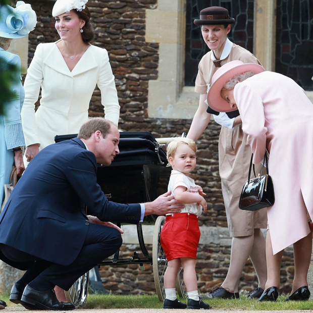 <b>Who helps look after Princess Charlotte and Prince George?</b>