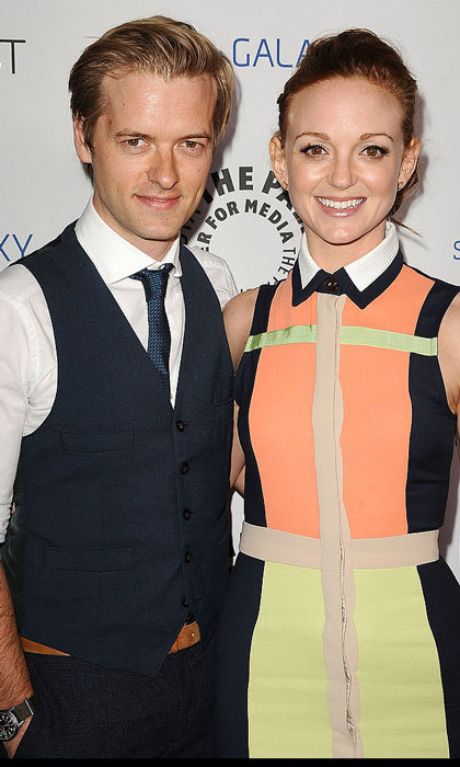 Jayma Mays is feeling extra <i>glee</i>-ful these days! The <i>Glee</i> alum and her husband Adam Campbell welcomed their first child together during the summer. According to <i>E! News</i>, the actress gave birth to a baby boy named Jude back in August. It was confirmed in April that the Hollywood stars, who tied the knot in 2007, were expecting.