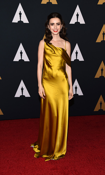 Celebrities Wearing Yellow The Brightest Color On The Carpet