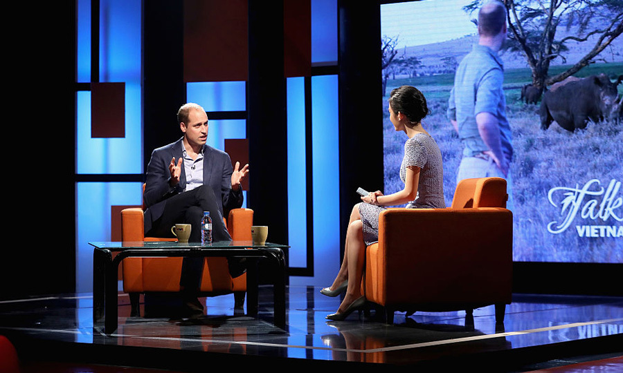 William recorded an interview on the popular, local talk show discussing his love for wildlife and how much he enjoyed his first trip to Vietnam.