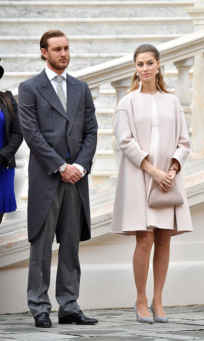 Long before their summer 2015 double weddings – a civil ceremony at the Prince's Palace in Monaco and a second occasion in Italy – Princess Caroline's son Pierre Casiraghi and his Italian journalist wife Beatrice Borromeo had been showing their complementing signature style. Click through for a gallery of the couple's greatest fashion hits.