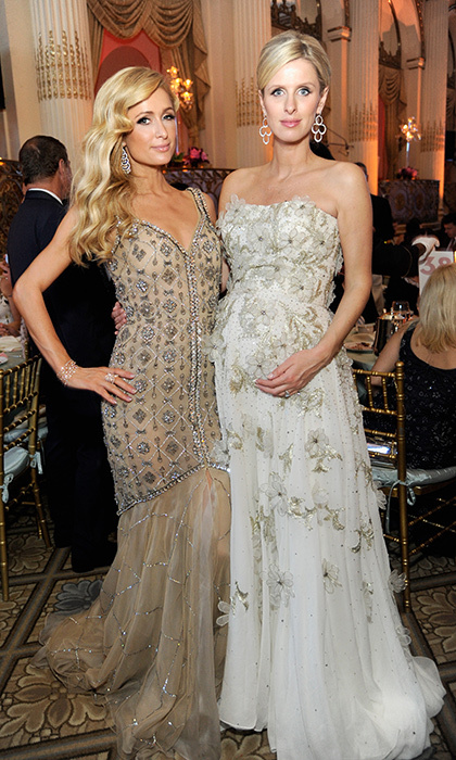 "<a href=""https://us.hellomagazine.com/tags/1/nicky-hilton/""><strong>Nicky Hilton</strong></a> looked stunning in a white strapless dream gown, accompanied by her glamorous sister <a href=""https://us.hellomagazine.com/tags/1/paris-hilton/""><strong>Paris Hilton</strong></a>. The mom to be was at FIT's Annual Gala at The Plaza Hotel on May 9, 2016 in New York City. Nicky gave birth to daughter Lily Grace in July 2016.