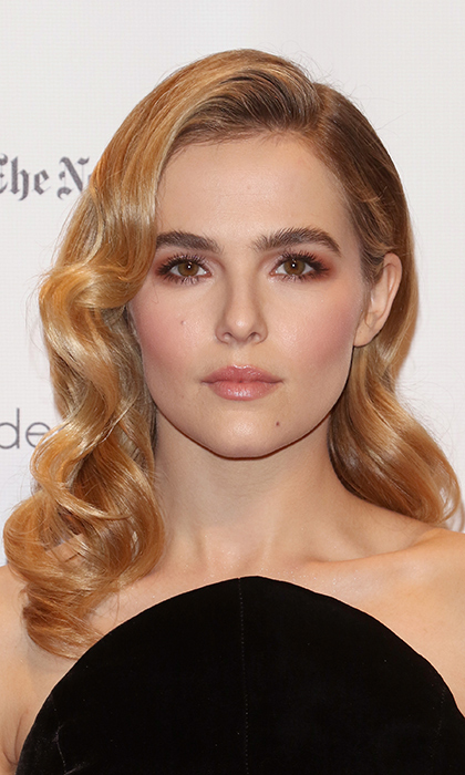 Actress <b>Zoey Deutch</b>'s eyes, lips and cheeks were a warm and rosy match at the 26th Annual Gotham Independent Film Awards at Cipriani Wall Street on November 28 in New York City. 