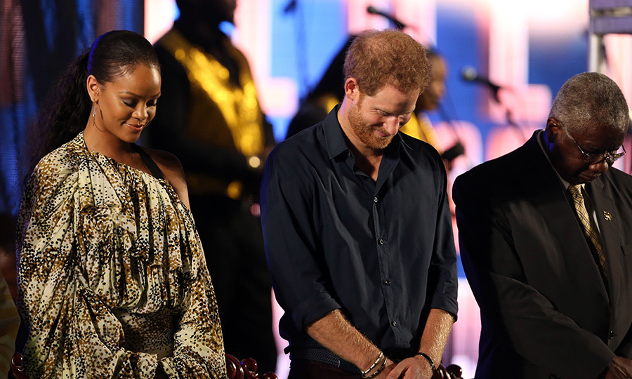 "According to the BBC, the Prince greeted the Grammy Award winning star earlier in the day for the first time by saying: ""Hello, it's very nice to meet you"" after being told he'd see Rihanna at the event just 20 minutes beforehand.