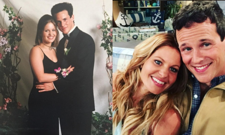 Candace Cameron Bure and Scott Weinger
