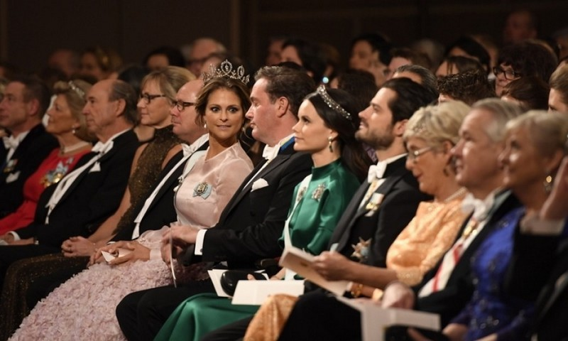 Princess Madeleine and her husband Christopher O'Neill came in from London for the occasion. During the ceremony, the couple sat front and center with Princess Sofia and Prince Carl Philip. 