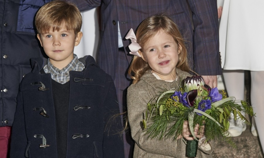 A month shy of their sixth birthday, Prince Vincent and Princess Josephine stepped out once again for a holiday affair. This time, the twins with their family attended a church Christmas concert at the Esajas Kirke.