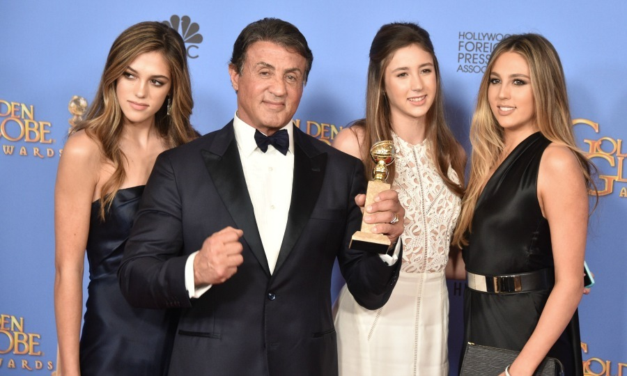 Sylvester Stallone's daughters say their dad isn't as ...