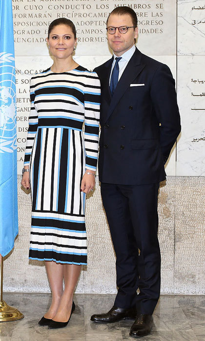 "Victoria and Daniel made a sharp duo at the ""step it up together with rural women to end hunger and poverty"" seminar.