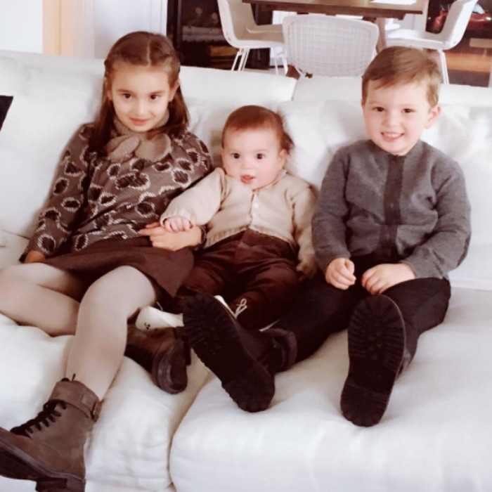 Say cheese! Arabella, Theo and Joseph were all smiles for this photo posted on their mother's Instagram! Ivanka captioned the pic of her trio with a host of heart emojis. 