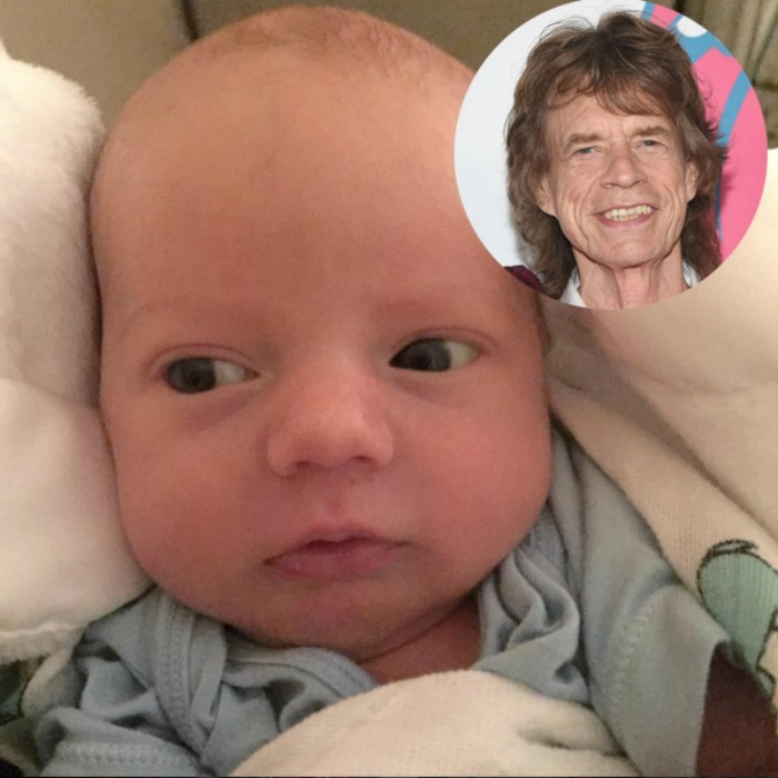 The world was finally introduced to the tiniest Rolling Stone when his big sister, posted his photo on Instagram. 