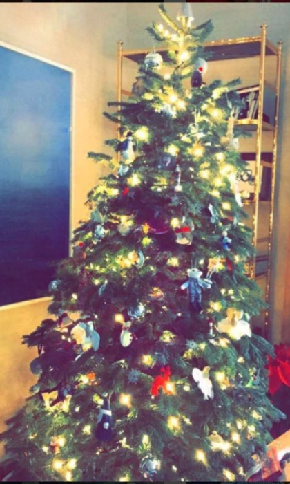 <i>Sing</i> star Reese Witherspoon showed off her festive tree.