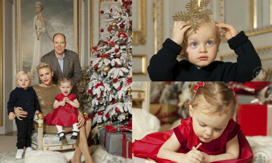 Princess Charlene and Prince Albert release Christmas card and video ...