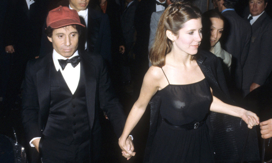 "Carrie married Paul Simon in 1983, but divorced the musician a year later in 1984. Discussing her failed marriage with Rolling Stone in 2016 she admitted, ""I'm not good at relationships. I'm not cooperative enough. I couldn't give him the peace that he needed,"" Carrie explained. ""We both had very interesting fights. It's all a shame, because he and I were very good together in the ways that we were good. But like I said, I don't supply someone with a really peaceful home.""