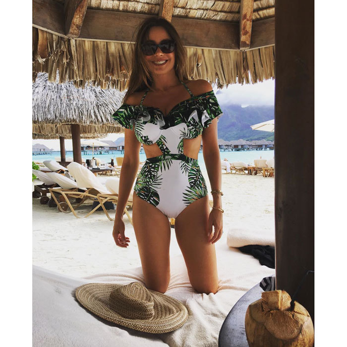 Amidst the holidays, Sofia Vergara showed off her bikini body during a tropical vacation with her husband Joe Manganiello and family.