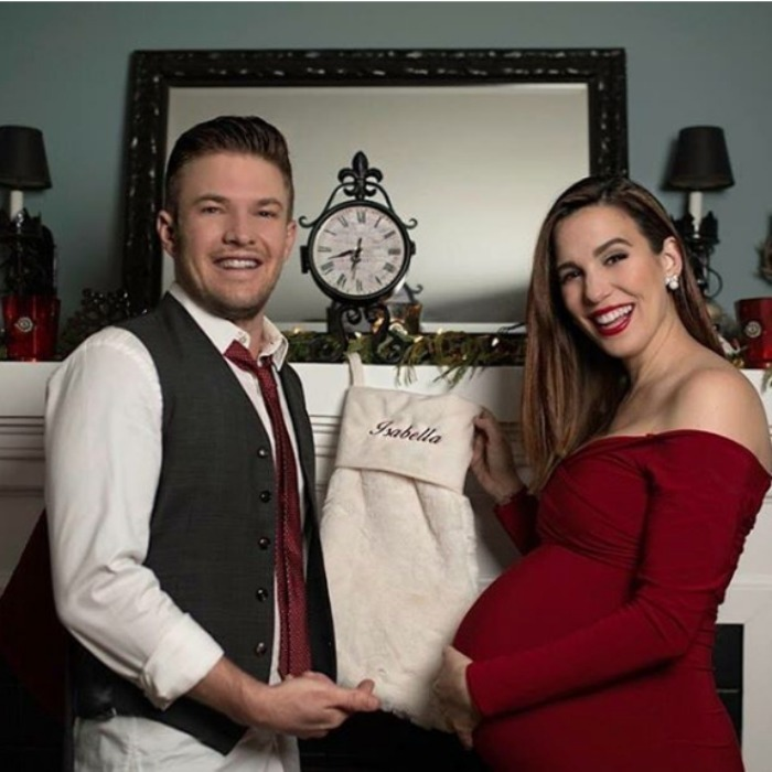 It's a girl! Christy Carlson Romano and her husband Brendan Rooney welcomed their daughter Isabella on Christmas Eve. The former Disney Channel star shared the exciting news next to a very special picture on her Facebook. 