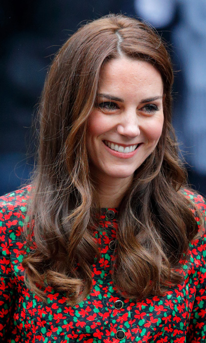 The Duchess of Cambridge was look extra merry and <i>rosy</i> at a Heads Together and the Mix Christmas party in London. The royal added a touch of blush to her flawless complexion as she helped spread holiday cheer at a celebration for volunteers.