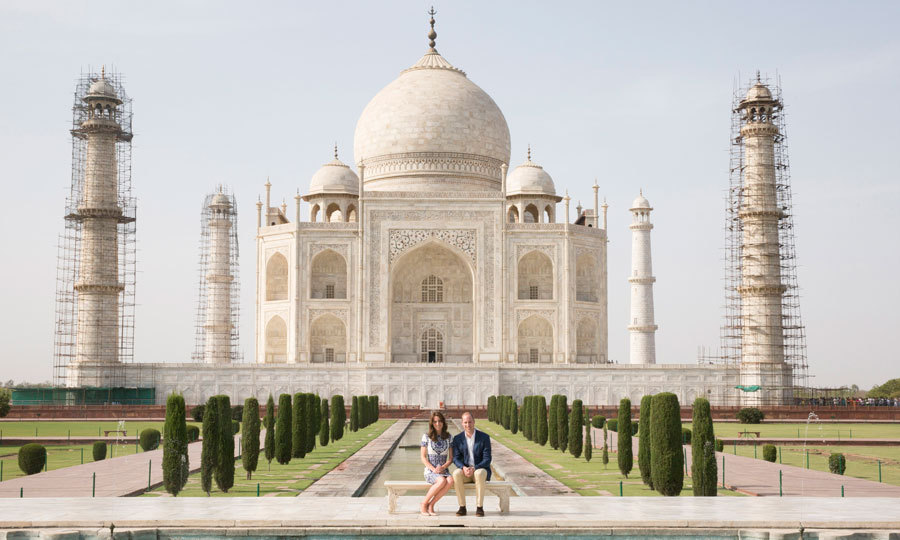 Kate and William recreated Princess Diana's iconic photo in front of the Taj Mahal during their royal tour of India and Bhutan.