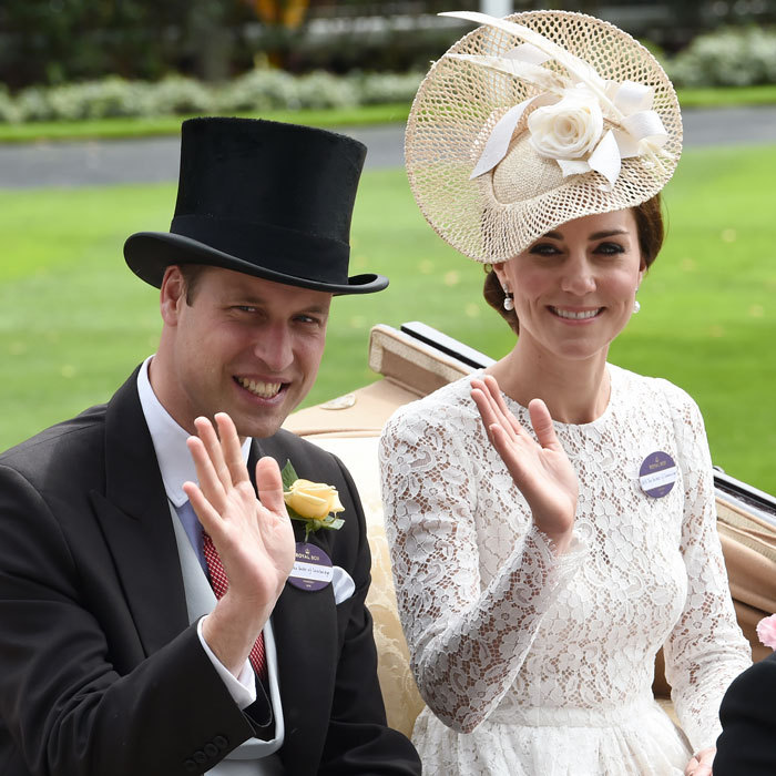 The pair was dressed to the nines for their debut at the Royal Ascot in Ascot, England. 