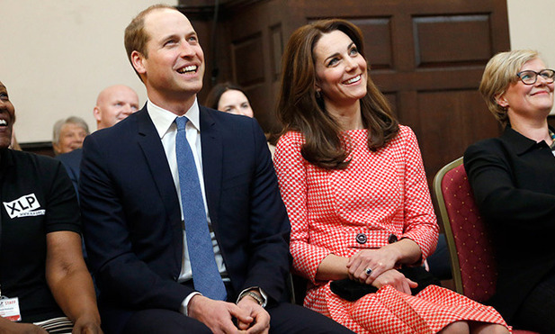 The couple was all smiles as they attended a joint engagement at the urban youth charity XLP in London to learn more about the work carried out by their XL Mentoring scheme.