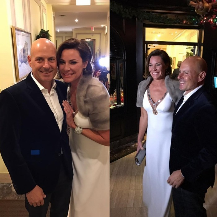 <i>Real Housewives of New York</i> star LuAnn de Lesseps had a pretty special NYE - she tied the knot! LuAnn married Tom D'Agostino in a ceremony at the Brazilian Court Hotel in Palm Beach, Florida. Besides a wedding and the new year, the couple celebrated Tom's 50th birthday!