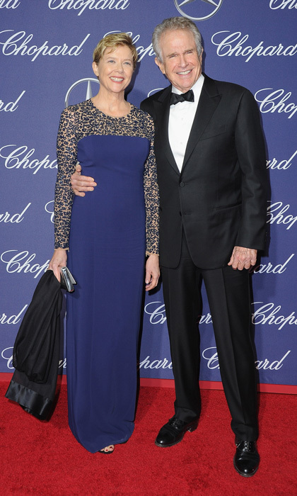 January 2: It was date night for Annette Bening and Warren Beatty at the 28th Annual Palm Springs International Film Festival Film Awards Gala presented by Chopard.