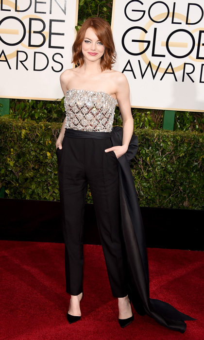 Emma Stone in Lanvin, 2015 