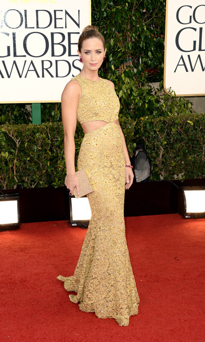 Emily Blunt in Michael Kors, 2013