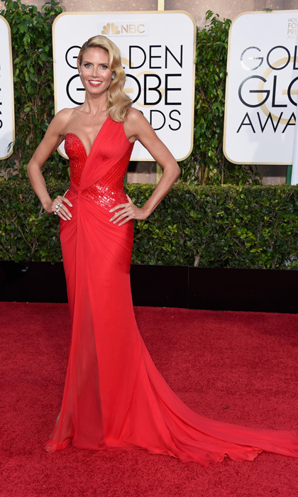 Heidi Klum in Atelier Versace, 2015