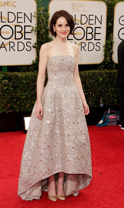 Michelle Dockery in Oscar de la Renta, 2014