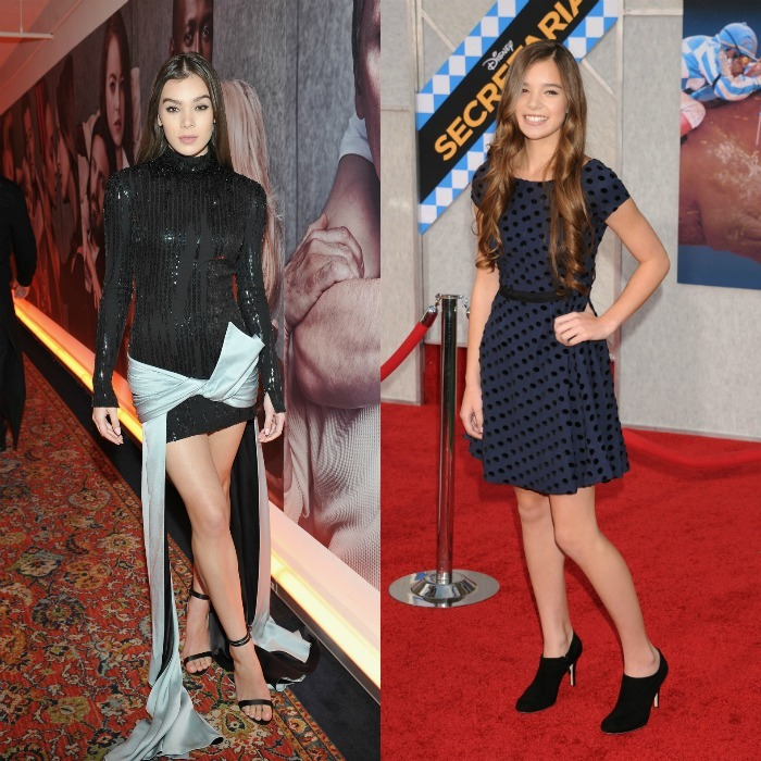 <b>Hailee Steinfeld, 2017 vs. 2010</b>