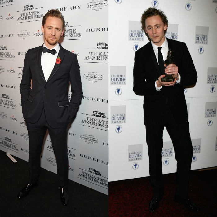 <b>Tom Hiddleston, 2016 vs. 2008</b>