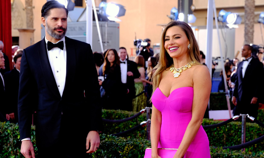 Joe Manganiello only had eyes for wife Sofia Vergara at the 22nd annual Screen Actors Guild Awards.