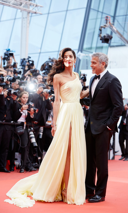 Behind these stunning leading ladies are adoring fans aka their husbands. With all eyes (and cameras) on them, these men weren't afraid to step aside to let their loves steal the spotlight and show their admiration in the process. Click through for a gallery of great photos of celebrity guys who are clearly in awe of their good fortune!