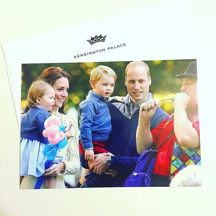 Prince William And Kate Middleton Thank Supporters With
