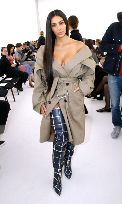 "Over three months after Kim's robbery in Paris, 17 suspects have been reportedly arrested in connection to the heist. According to the French newspaper Le Monde, one of the individuals who was taken into custody works for a limo company that the reality star's family used during their Paris visit. Kim's attorney Jean Veil told FR2 that Kanye West's wife is ""very happy"" and ""very reassured"" by the recent developments in the case.