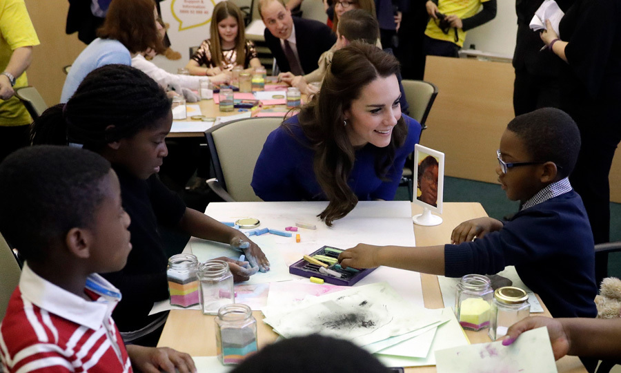 While at the center, Kate learned how the Child Bereavement UK's 'Memory Jar' exercise can help families dealing with bereavement.