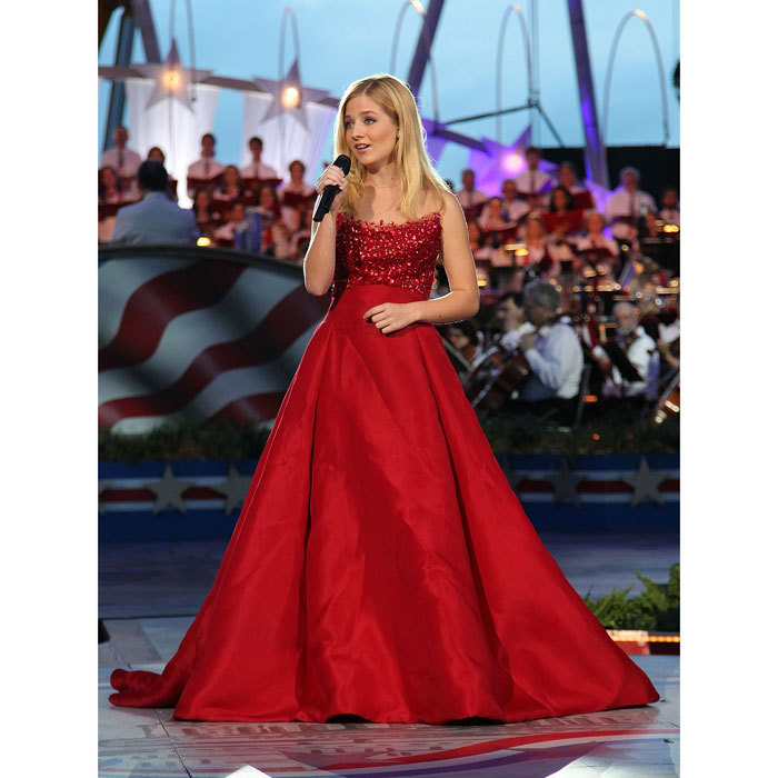 Opera singer Jackie Evancho, who first rose to fame competing on <i>America's Got Talent</i> at the age of ten, will perform the National Anthem at the event. 
