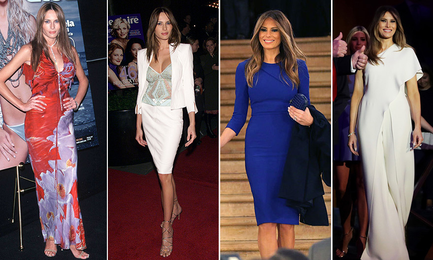 202a9ccae42 First Lady Melania Trump's style evolution - Photo 1