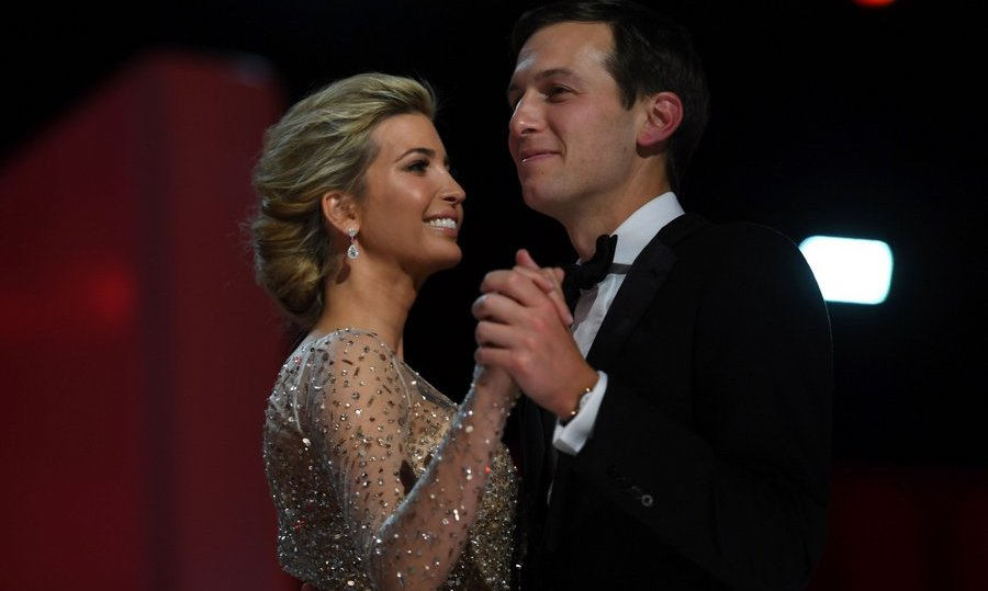 Ivanka Trump and husband Jared Kushner danced at the Liberty Ball at the Washington Convention Center. 
