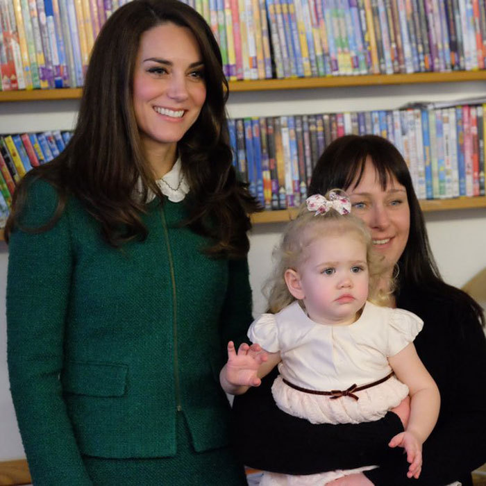 The stylish royal met with families and spent time seeing why the nook is vital to the hospice.