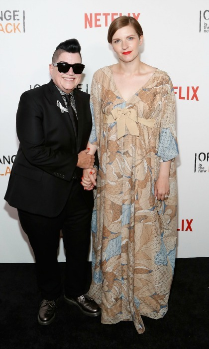<b>Lea DeLaria and Chelsea Fairless</b> 