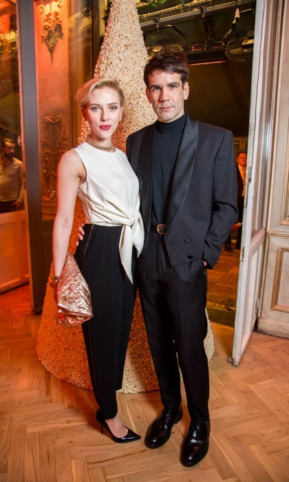 <b>Scarlett Johansson and Romain Dauriac</b>