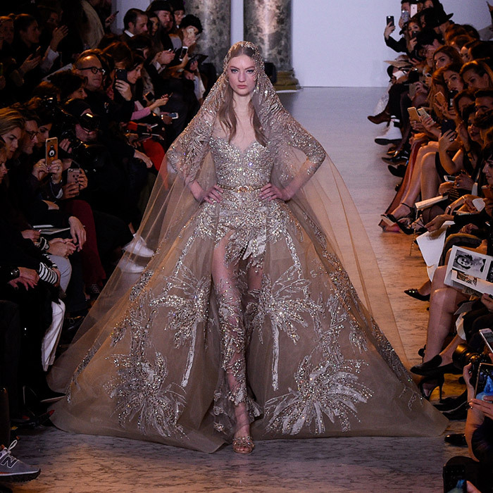B Elie Saab The Looks Were Inspired By Egyptian Cinema